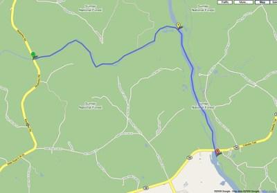 Enore_Broad_River_Map