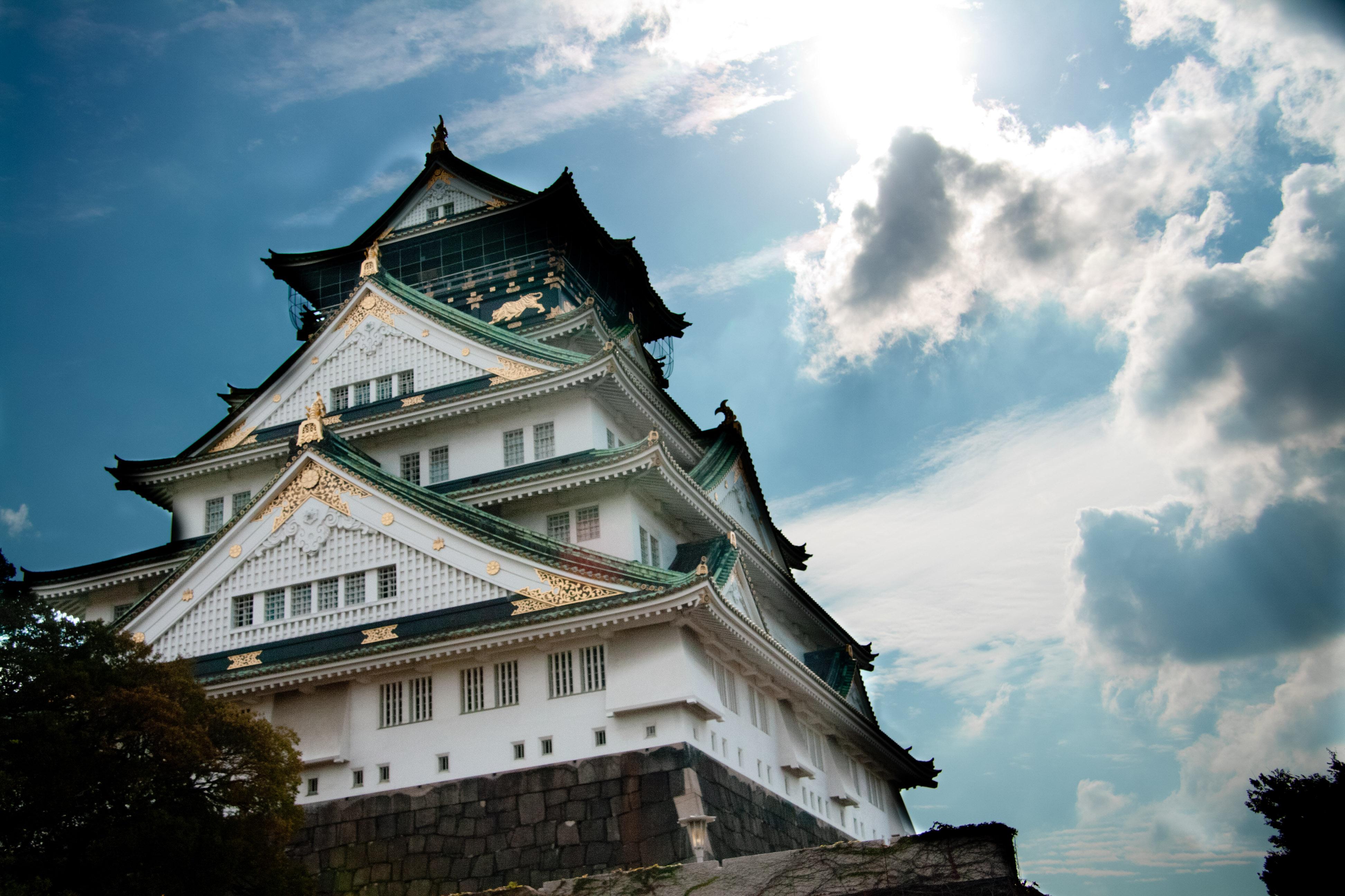フリー寫真素材|建築・建造物|宮殿・城|日本|大阪府|畫像素材なら!無料・フリー寫真素材のフリーフォト