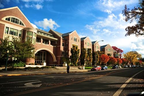UO Law School building.
