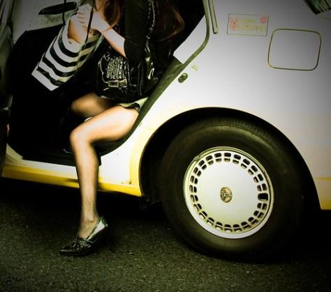 High heels taxi