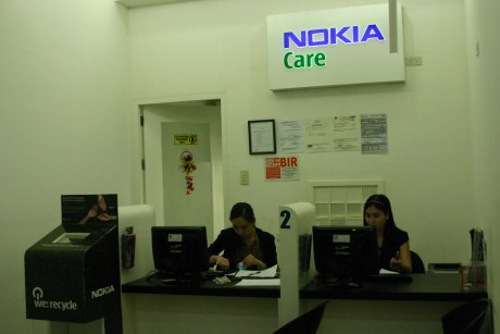 The NOKIA CARE CENTER staff