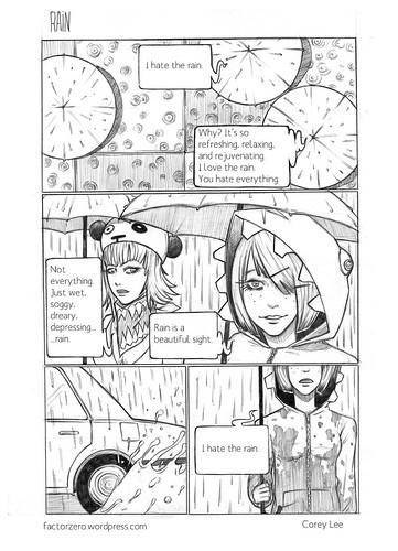 Rain [pencils]