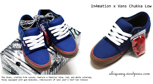 In4mation x Vans Chukka Low 1