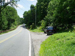AT Parking at High Point at Mountain Road