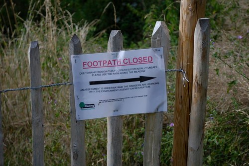 Footpath closed