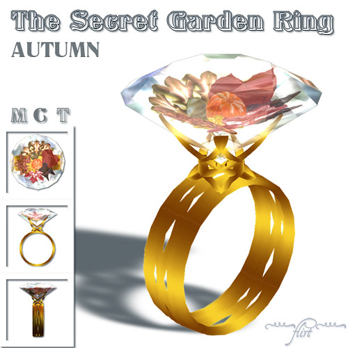 ~flirt~ The Secret Garden Ring: AUTUMN