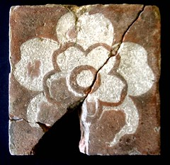 Tudor Rose Floor Tile