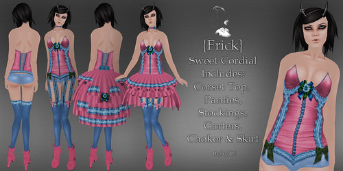 Frick - Sweet Cordial - Ad