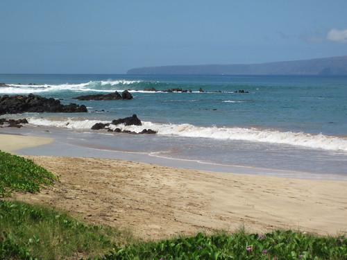 Big Waves at Palauea