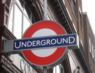 London Tube Stop - Covent Gardens