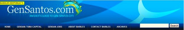 The old header for Bariles Republics GenSantos.Com