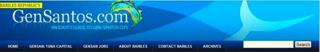 The old header for Bariles Republics GenSantos.Com