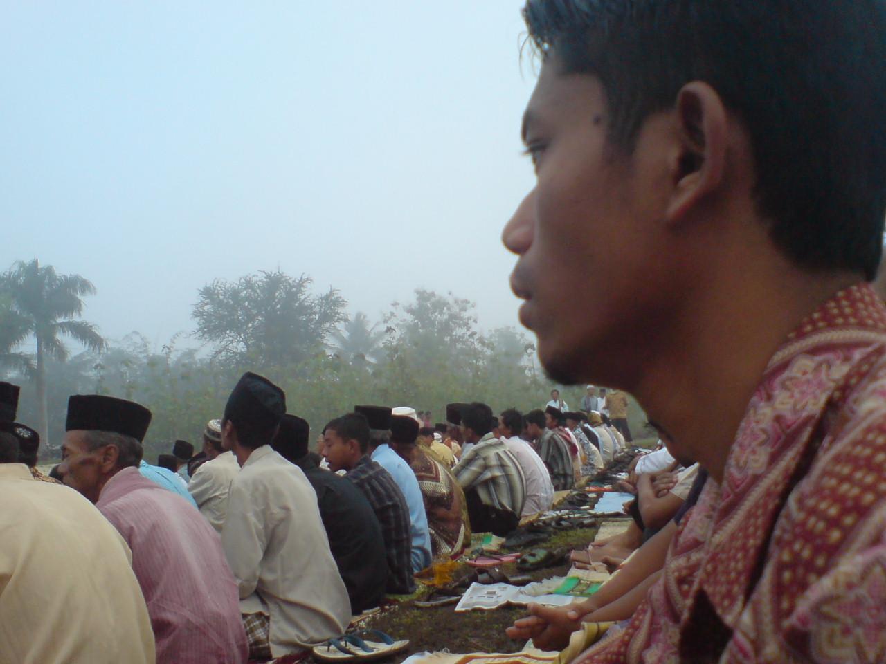 Shalat Ied di lapangan #grogol #indonesiabanget 07