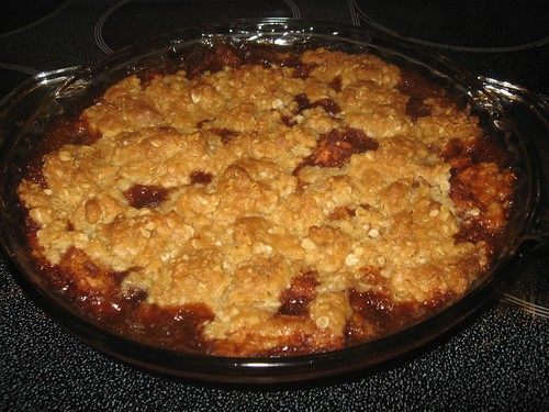 Apple Pomegranate Crisp