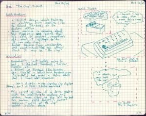 2009-11(Nov)-10 - idea - 'the clap' t-shirt