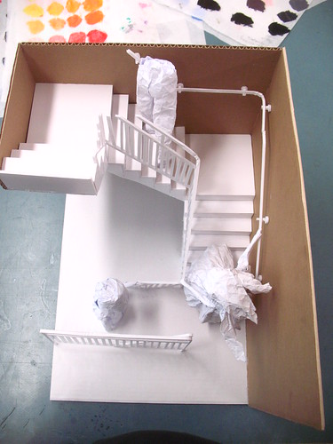 paper model -  from above