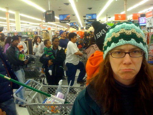 Christmas 2009: Christmas Eve in Walmart