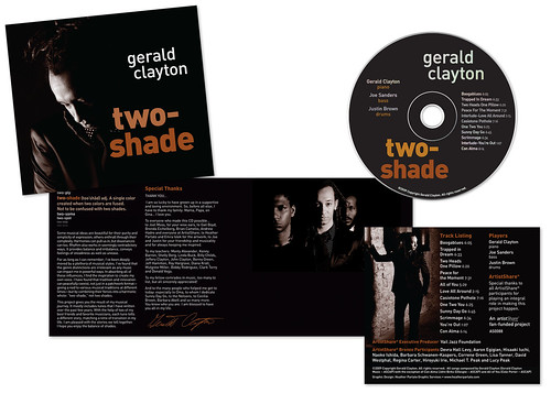 gerald clayton two-shade CD digipak