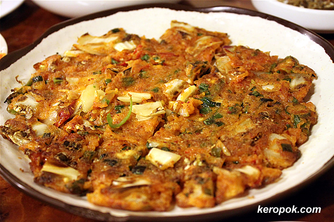 Kimchi Pan Cakes