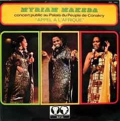 miriam makeba concert l'appel a l'afrique cover