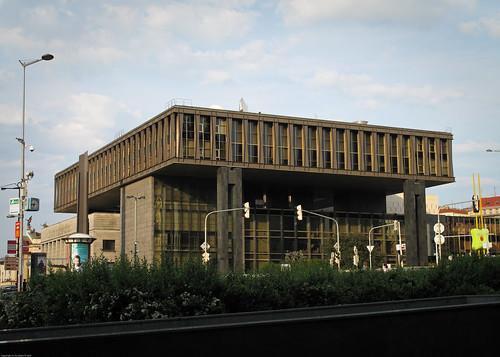 Former Czechoslovak parliament building by you.
