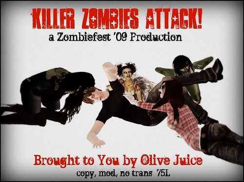 killer zombies attack