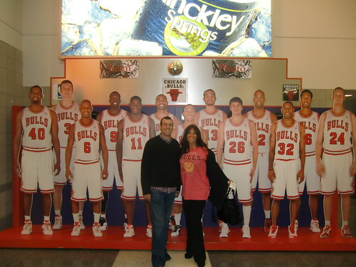 Brian Littleton, Missy Ward and the Chicago Bulls