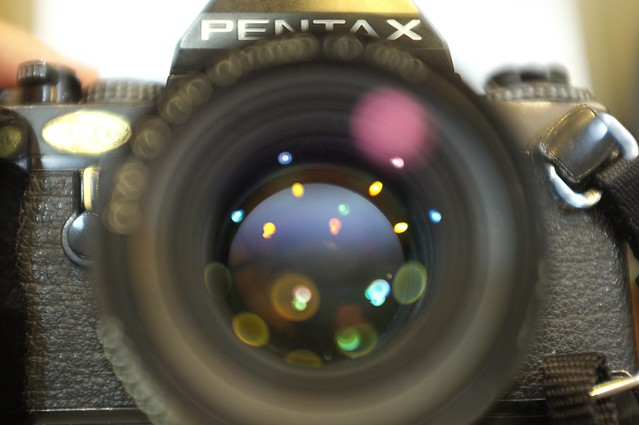 Pentax LX with A50/1.7
