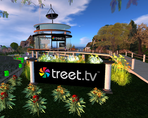 Treet TV Studios at Relay for Life 2009
