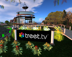 Treet TV Studios at Relay for Life 2009