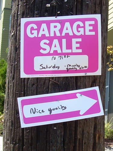 Nice Quality Garage Sale