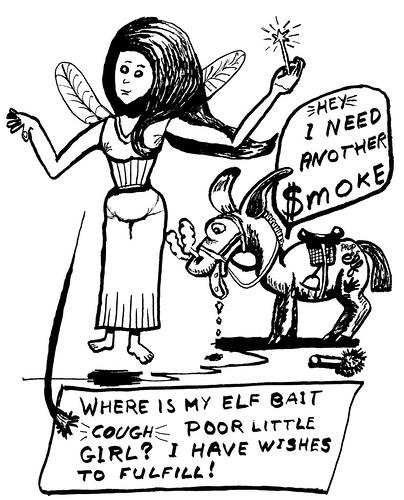Reed pen cartoon, part 7