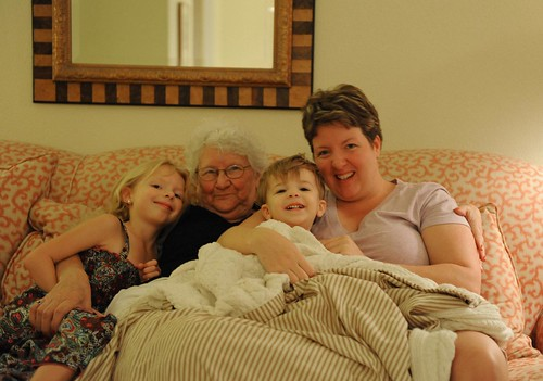 my loves and I with Granda Bristow