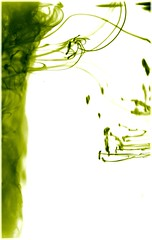 Green Water Colour (Abstract)