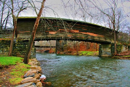 The Humpback Covered Bridge