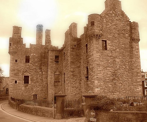 MacLellans castle in Kirkcudbright