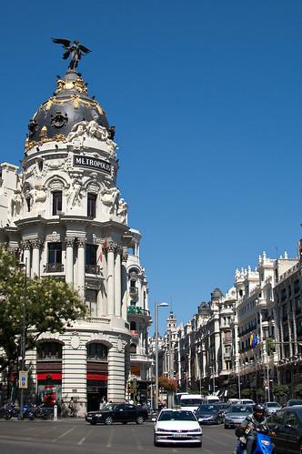Confluencia de Gran Vía con la calle de Alcalá