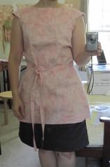 Anna Tunic Wearable Muslin-unhemmed