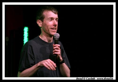 Michael Mee at Carlsberg Comedy Festival