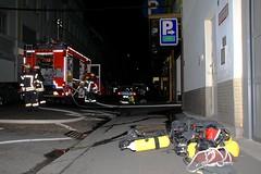 PKW-Brand Parkhaus Helenenstraße 09.10.09