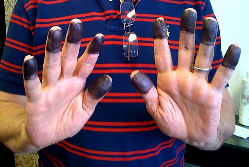 226/365 fingerprinting