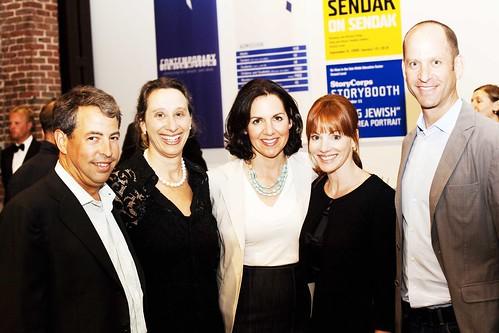 David Levine, Board Chair-elect, Museum Director, Connie Wolf, Julie Levine, Karen Zeff, Michael Zeff