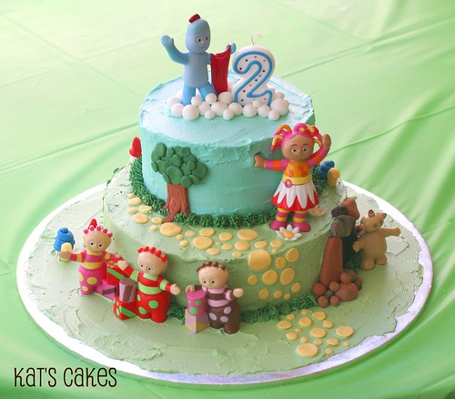 Kat's Cakes In The Night Garden Cake