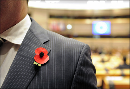 Remembrance Day at the European Parliament