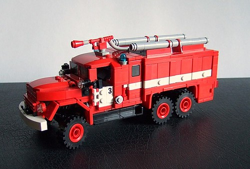 LEGO ZIL-131 fire engine