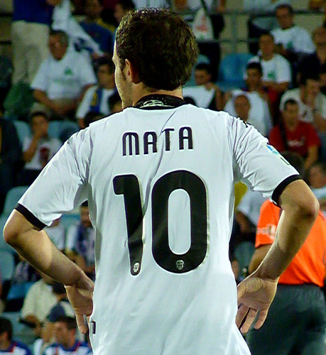Valencia winger MATA # 10