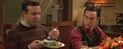 Sudeikis with Asparagus
