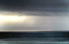 Central Coast, Cambria, California--a gray day...