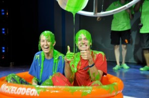 Getting Slimed at Nickelodeon Studios