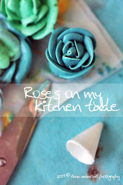 Buttercream Rose and Wafer Cone